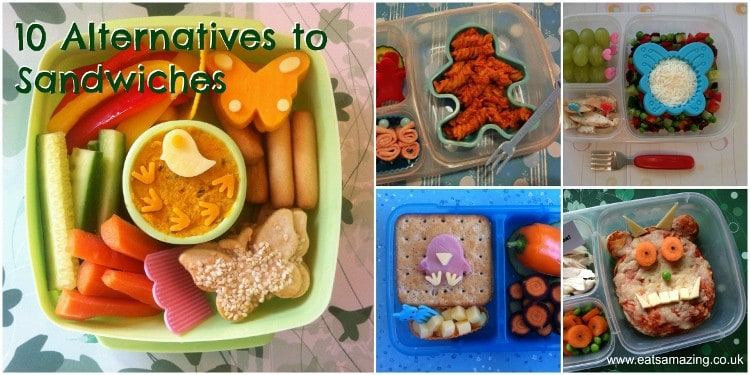 Eats Amazing - 10 Alternatives to Sandwiches in your Lunchbox