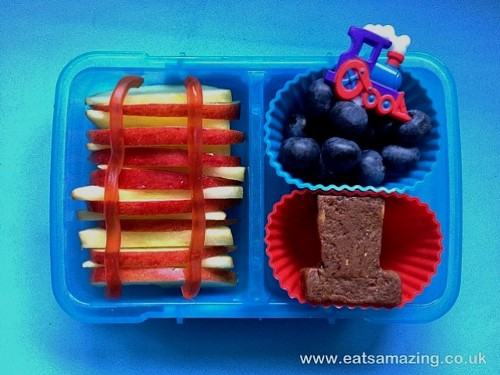 Eats Amazing - Thomas the Tank Engine Themed Lunch - Dessert