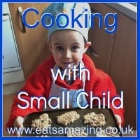 Cooking with Small Child Button