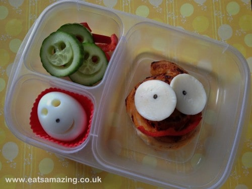 Eats Amazing - Funny Faces Bento Lunch