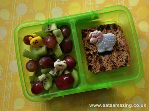 Eats Amazing - Funny Faces Lunch - Snack Box