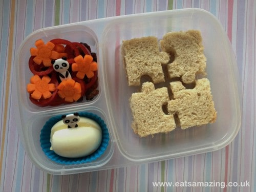 Eats Amazing -Simple Puzzle Sandwich Lunch in EasyLunchboxes