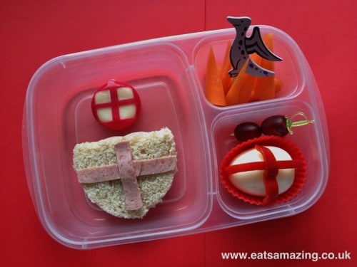 Eats Amazing - St George's day bento lunch