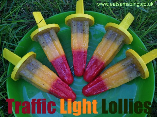 Eats Amazing - Traffic Light Lollies Recipe & Tutorial