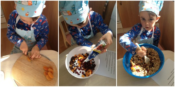 Cooking with Small Child - Simple Granola, Step 3