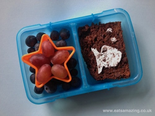 Eats Amazing - A fishy bento after school snack