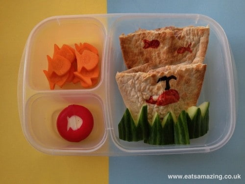 Eats Amazing - A fishy bento lunch