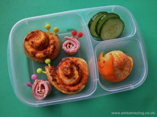 Eats Amazing - A lunchbox full of snails