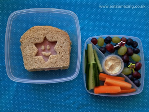 Eats Amazing - simple sandwich and nibbles lunch