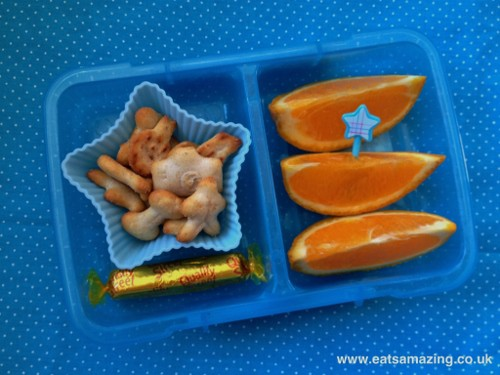 Eats Amazing - simple star after school snack