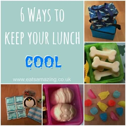 Eats Amazing - 6 Ways to keep your lunch cool