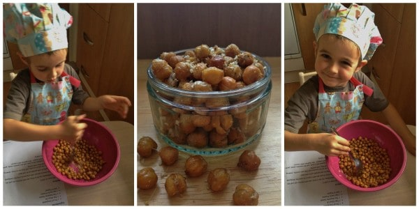 Cooking with Small Child - Easy Roasted Chickpeas Step 4
