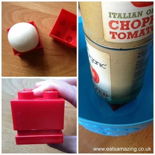 Eats Amazing - How to make a LEGO egg - Step 2