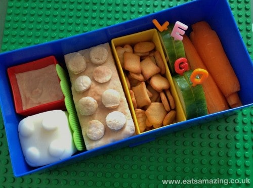 Eats Amazing - Lego Lunchbox Review - Lids Off