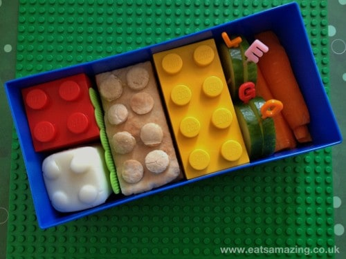 Eats Amazing - Lego Lunchbox Review - Lids On