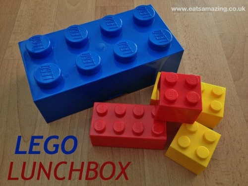 Eats Amazing - Lego Lunchbox Review
