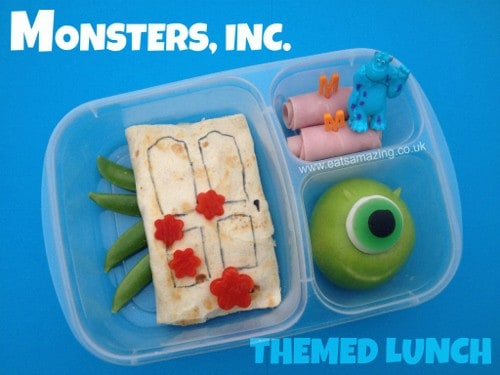Monsters, Inc. Themed Lunch