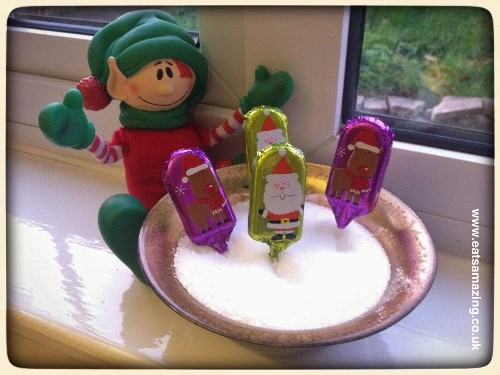 Chocolate Christmas lollipops have sprouted from the magic elf seeds
