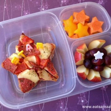 Star Themed Lunch for my Little Star