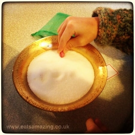 Planting magic elf seeds according to instructions - I wonder what will grow #elfontheshelf #christopherpopinkins