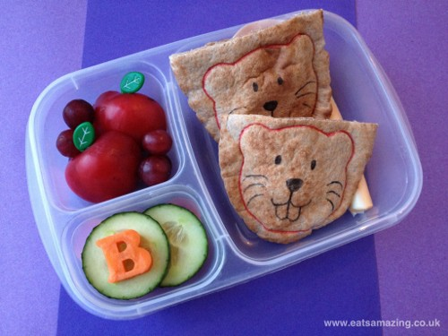 Eats Amazing - Beaver themed lunch for my new little Beaver Scout