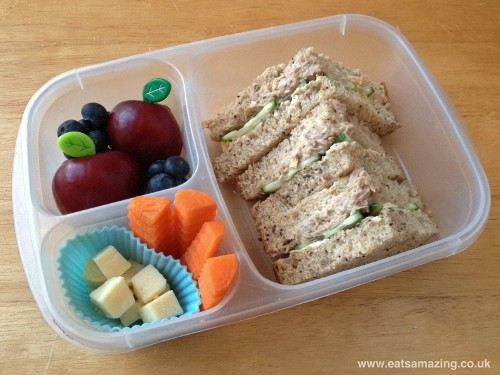 Eats Amazing - Healthy balanced bento lunch menu 2