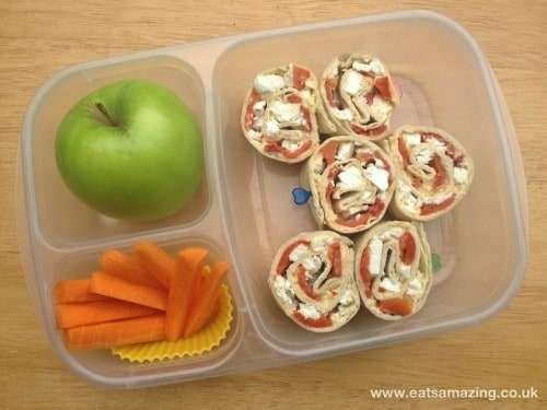 Eats Amazing - Healthy balanced packed lunch ideas and menu 2