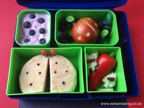 Eats Amazing - Ladybird themed lunch