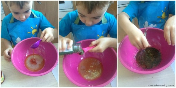 Cooking With Small Child