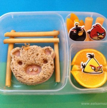 Angry Birds Lunch & #FunFoodFriday