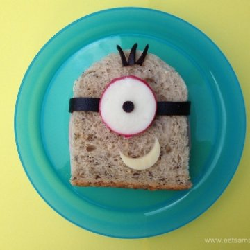 Minion Sandwiches & #FunFoodFriday