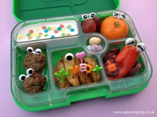 Eats Amazing - Eyeball lunch and Yumbox review
