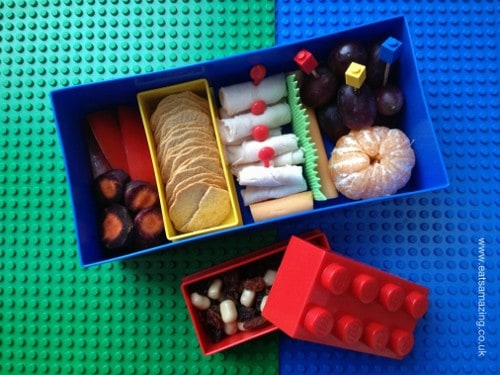 Eats Amazing - Nibbles Lunch in Lego Lunch Box