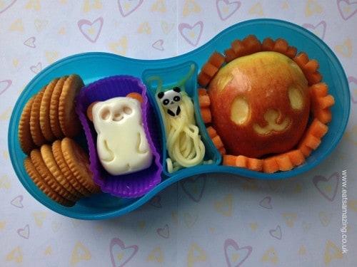 Eats Amazing - Panda themed lunch in TUMTUM lunch box