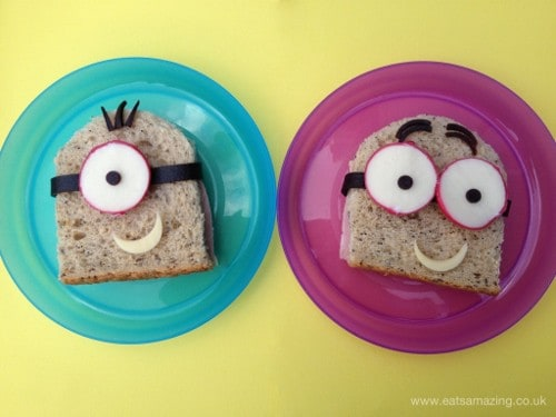 Eats Amazing - Simple Minion Sandwiches for Lunch (500x375)