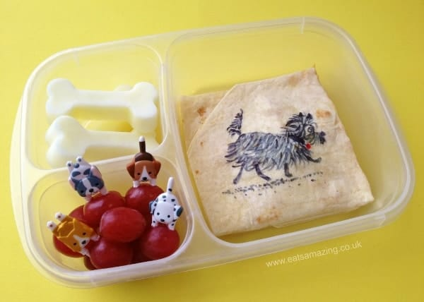 Book Themed Food - Hairy Maclary Book Themed Bento Lunch for World Book Day from Eats Amazing UK - Making healthy food fun for kids!