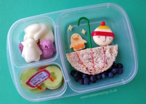Lost & Found Themed Book Bento Lunch