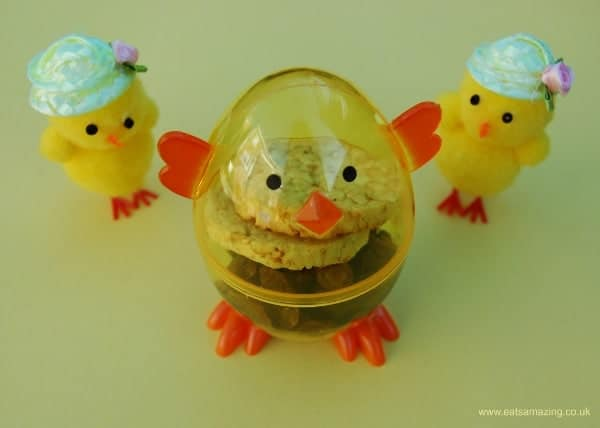 Eats Amazing - Chick snack to go with an egg themed Easter Lunch