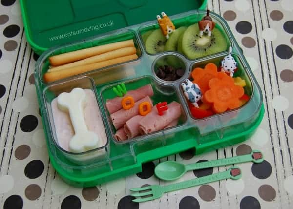 Eats Amazing - Doggie Themed Yumbox Lunch
