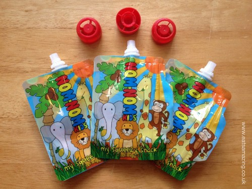 Eats Amazing - Nom-Nom Kids Reusable Food Pouches Review