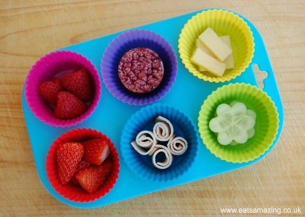 Eats Amazing - Rainbow Muffin Tin Meal for Baby