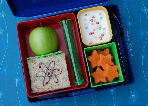 Eats Amazing - Science themed lunch for school science day