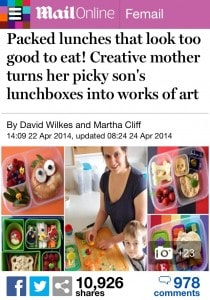 Eats Amazing made it into the Daily Mail