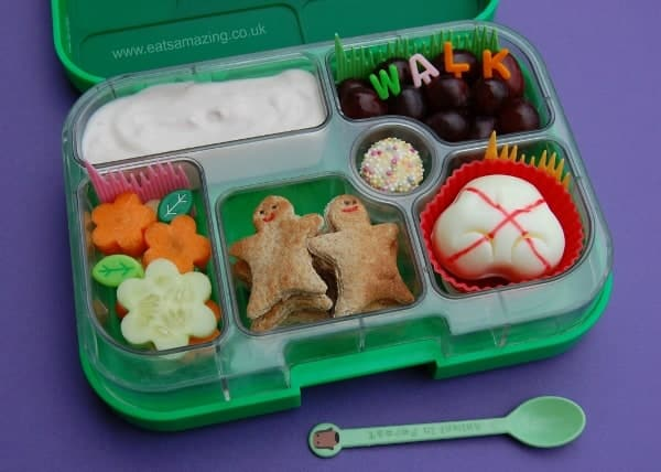 Eats Amazing - Bento Lunch to celebrate walk to school week 2014
