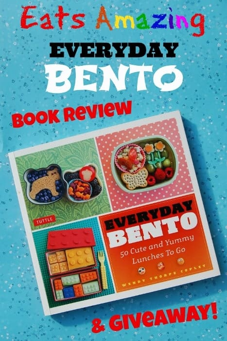Eats Amazing - Book Review and Giveaway - Everyday Bento by Wendy Copley