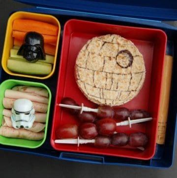 Eats Amazing - Death Star Lunch for Star Wars Day