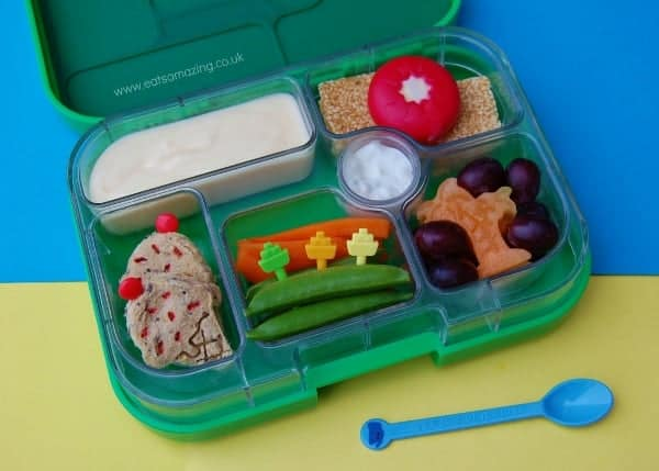Eats Amazing - Dreaming of the beach lunch in our yumbox