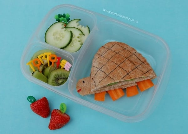 Eats Amazing - Tortoise pitta pocket bento lunch