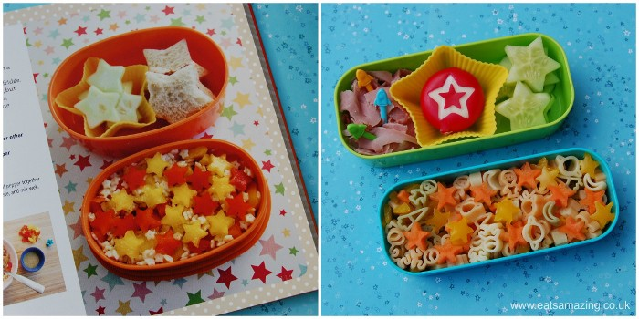 Eats Amazing - my star lunch based on a lunch from the Everyday Bento Book by Wendy Copley