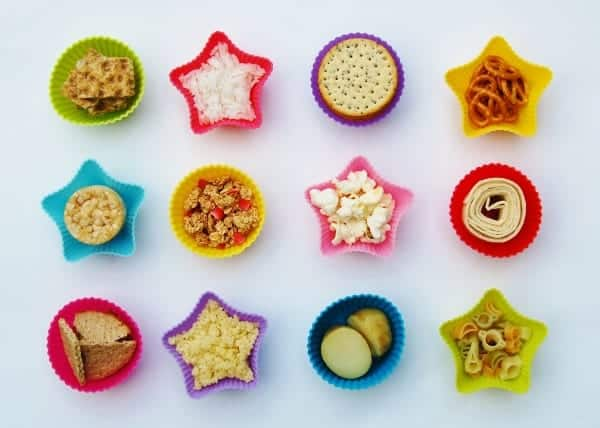 Eats Amazing - Lunch Box Food Ideas - 12 different ideas for starchy foods to include in your bento lunch box